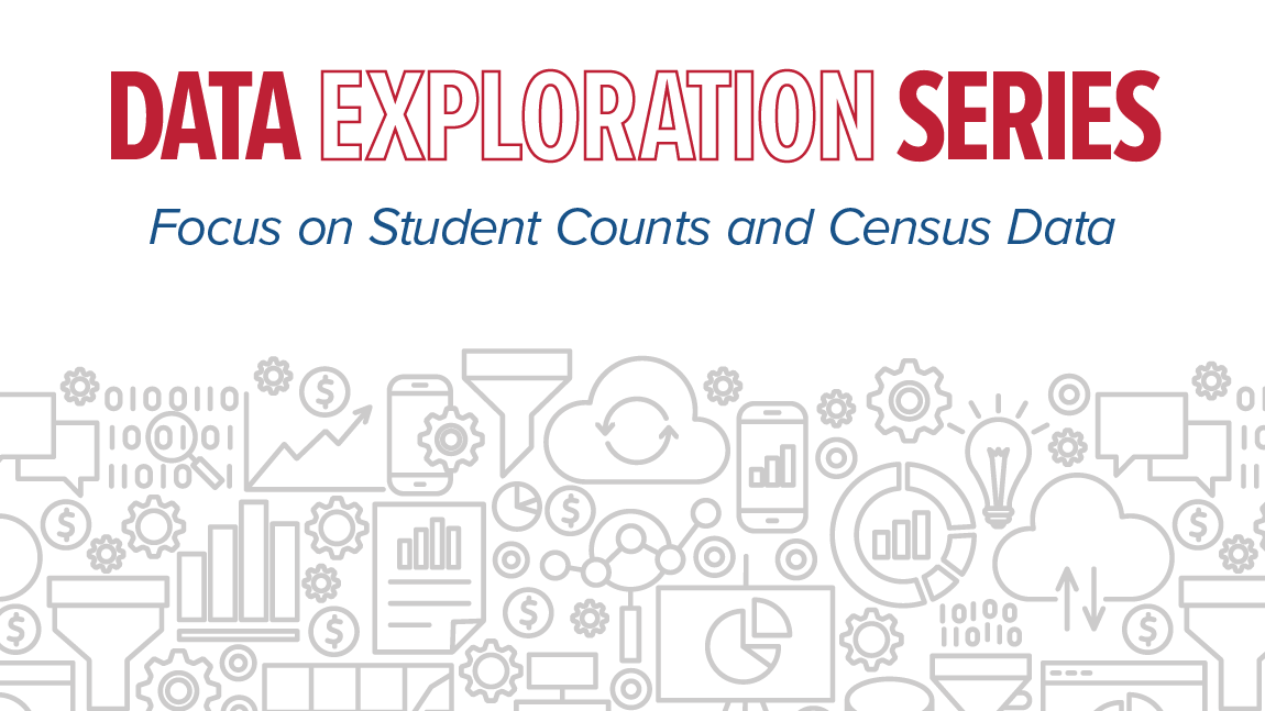 Data Exploration Series Focus on Student Counts and Census Data on October 15th 2020
